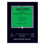 Aquarela Arches 300 gr, 14,8x21 cm, G. Fino, block 12 f.