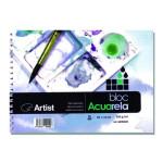 Aquarela Artist 250 gr, 16x11 cm, G. Fino, Block 20 f.