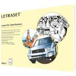 Block Letraset Layout Pad  (bocetos) rotulador A3, 60 gr., 80 h.