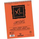 Block XL Croquis Canson 14.5x21 cm. 90 gr. 60 h., con espiral