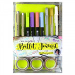 Conjunto crie seu diário Pastel Green, Bullet Journal