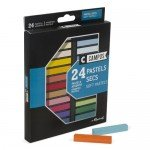Caja pastel seco 24 colores Campus Raphael