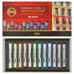 Caixa Pastel Toison D'Or Koh-I-Nor, 12 pcs.