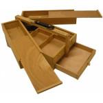 Caixa madera muito usos, 24x34x15 cm.