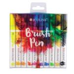 Set Marcador Aquarela Ecoline Brush Pen 10 ud