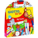 Giotto Be-Bè: Set Creativo 12 rotuladores, Mi granja