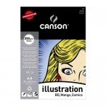 Bloc Enc A4, 12H Canson Illustration Liso 250g