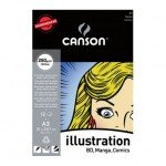 Bloc Enc A3, 12H Canson Illustration Liso 250g