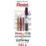Set  caligrafia iniciantes Pentel