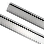 Regua aluminio anti-deslizante 100 cm -Art-