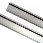 Regua aluminio anti-deslizante 30  cm -Art-