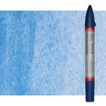Marcardor aquarela azul claro (vermelho) Winsor & Newton doble ponta pinceis