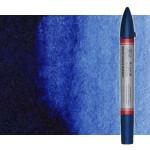 Marcardor aquarela azul de prussia tono Winsor & Newton doble ponta pinceis