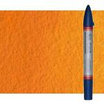 Marcardor aquarela cadmio laranja tono Winsor & Newton doble ponta pinceis