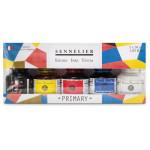 Conjunto 5 tintas primárias 30 ml, Sennelier