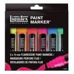 Liquitex Paint Marker, set 6 uds 15 mm.