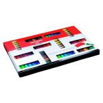 Ótimo Pack de Acrilicos Amsterdam, Standard Series (70 cores + 2 tubos de cor branco)