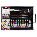 Conjunto de aquarela Sketching Black Series (21 peças), Royal&Langnickel