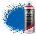 Acrilico Spray azul ftalocianina (cor verde), Liquitex acrílico, 400 ml.