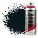 Acrilico Spray preto carbono 0337, Liquitex acrílico, 400 ml.