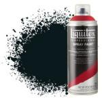 Acrilico Spray preto carbono 0337, Liquitex acrílico, 400 ml.