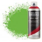 Pintura en Spray verde lima vivo 0740, Liquitex acrílico, 400 ml.*D*