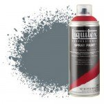 Acrilico Spray Cinza neutro 5, 5599, Liquitex acrílico, 400 ml.