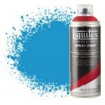Pintura en Spray Azul cerúleo 6, 6470, Liquitex acrílico, 400 ml.*D*