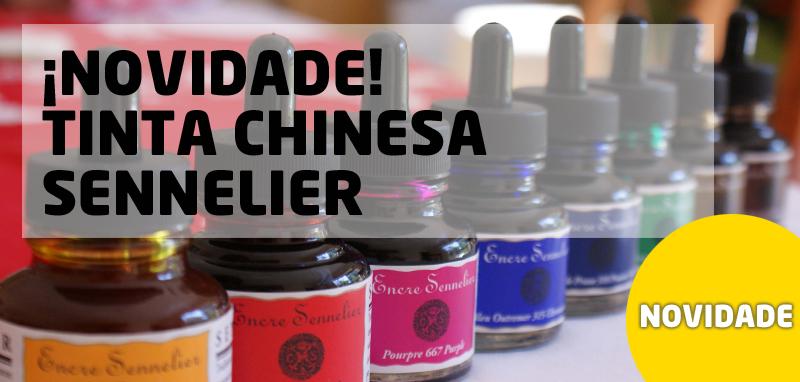 Novidade Tinta Chinesa Sennelier